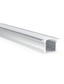 profilo led alluminio barra 1915 1metro per strip led 8 10mm mod cc 31 alto estruso 1902