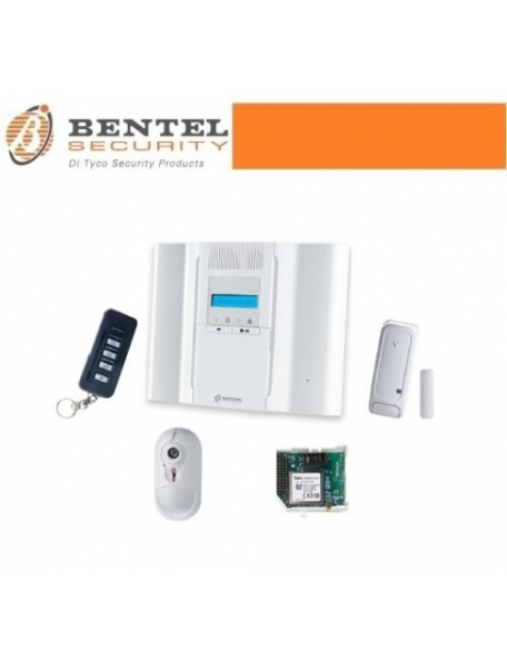 centrale bentel antifurto allarme casa wireless kit bentel ...