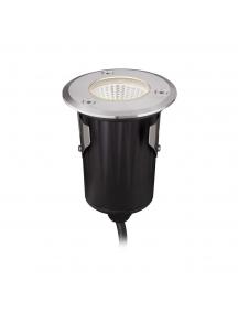 faretto calpestabile luce naturale led cob cree 5W IP67 12V 550Lm acciaio inox 1979