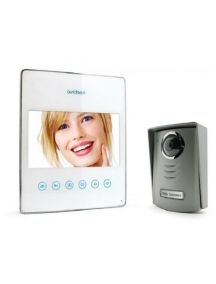 videocitofono ultrapiatto slim 7 pollici bianco touch avidsen 112211