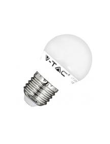 v tac lampadina sfera e27 6w luce naturale vt 1879 sku 7408