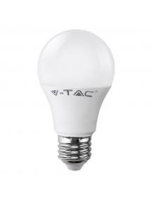 v tac lampada lampadina led goccia e27 9w led bulbo a60  luce naturale vt 2099 sku 7261
