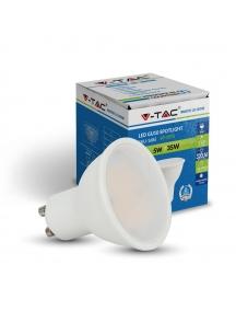 dicroica faretto v tac led 5w gu10 spotlight incasso luce calda vt1975c