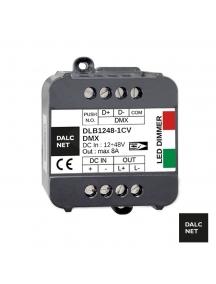 dimmer dmx 512 dalcnet easybus dlb 1248   1cv dmx 1canale strip led dc12v 24v 2045