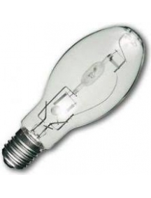 lampada ioduri metallici ellissoidale chiara 100w e27 4000°k luce naturale