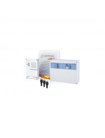 Bentel kit antifurto con centrale norma 8t avvisatore GSM e sirena da interno nuovo economico