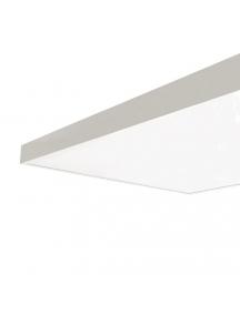 supporto in metallo per montaggio esterno per pannelli led 120x60 a soffitto