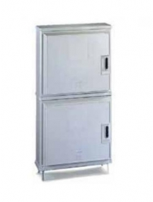 armadio in vetroresina doppio a due vani ip44 conchiglia BV4M/T-WLP 074107798 base 714 mm