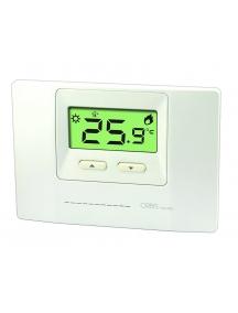 termostato ambiente a parete bianco economico digitale orbis ob324400