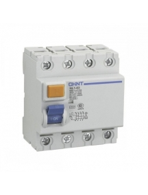 chint differenziale puro tipo ac 4p 40a 30ma nl1-63 200225 61413 200229