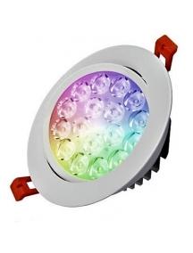Mi-Light Faretto da Incasso 9W RGB+CCT Plafoniera LED Wifi Milight FUT062 2391
