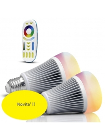 mi light starter kit telecomando touch +2x e27 rgb+cct 8w 550Lm senza fili 2556