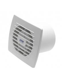 kanlux aspiratore da muro incasso elettrico bianco diametro 120mm