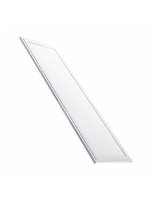 pannello led rettangolare slim 40w luce naturale bianco 120 x 30 cm pls12030