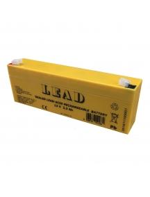 batteria ricaricabile al piombo 12v 2,2 Ah lince 474 li2,2-12 antifurto