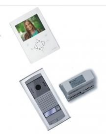 videocitofono monofamiliare a colori farfisa 2 fili cablaggio facile zh1252aglew