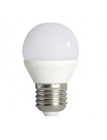lampadina mini globo attacco e 27 led 6,5w luce calda kanlux 23420