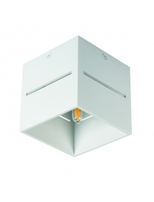 cubo luce diretta led g9 bianco metallo kanlux 27025 asil a soffitto