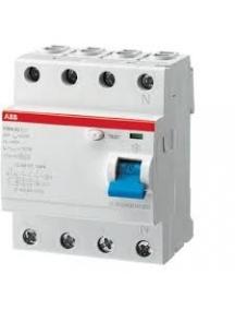 abb interruttore differenziale puro f204 ac 40a 300ma f427819