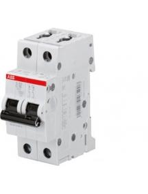 abb interruttore automatico magnetotermico 2 poli 6ka 16a s465908