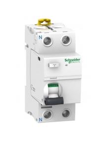 Differenziale Puro Schneider 2P 25A 30MA AC 2 Moduli A9R41225