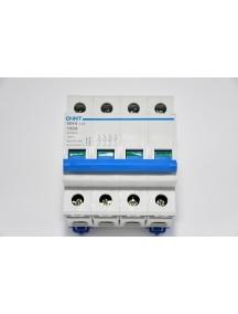 interruttore automatico magnetotermico 4 poli 100A 6ka chint 51416 158096