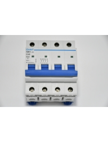 interruttore magnetotermico quadripolari 400 vac 4 moduli 40a 6 ka 4 poli   da guida din quadro chint 51411 curva c 180412