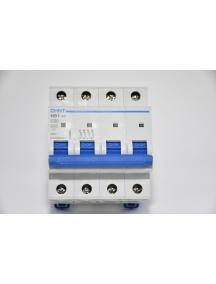 interruttore quadripolare interruttore magnetotermico da guida din quadro 400 vac 4 poli 20a 6ka chint 51408 curva c 180399
