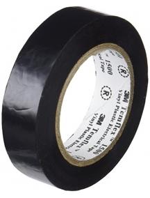 3mi nastro isolante adesivo isolante in pvc  autoestinguente nero 19x25mm 3mI7100035432