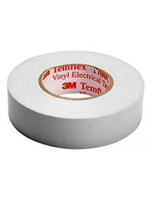 3mi nastro isolante in pvc autoestinguente bianco in pvc  19x25mm 3mI 7000106697