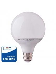 v tac lampadina bulbo e27 18w led pro vt 288 globo g120 chip Samsung luce fredda  sku 125
