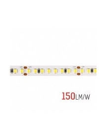 strip led 60w 800smd2835 h. e. ra80 150lm/w ip20 24v 4000k luce naturale 2580