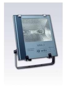 expo3 faro con lampada industriale 400w sodio alta pressione e40 nordex NX4921L